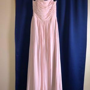 Beautiful Light Pink Chiffon Dress